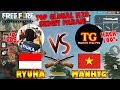 SENGIT!!! TOP M79 ManhTG Free Fire VS TOP M79 Ryuka Gaming!!! - Free Fire