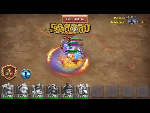 Rank #1 - Android - Archdemon Summons Monsters Huge Damage - 10.869  Billion Damage - Castle Clash