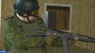 Для воспитанников ДОСААФ устроили большую военную игру