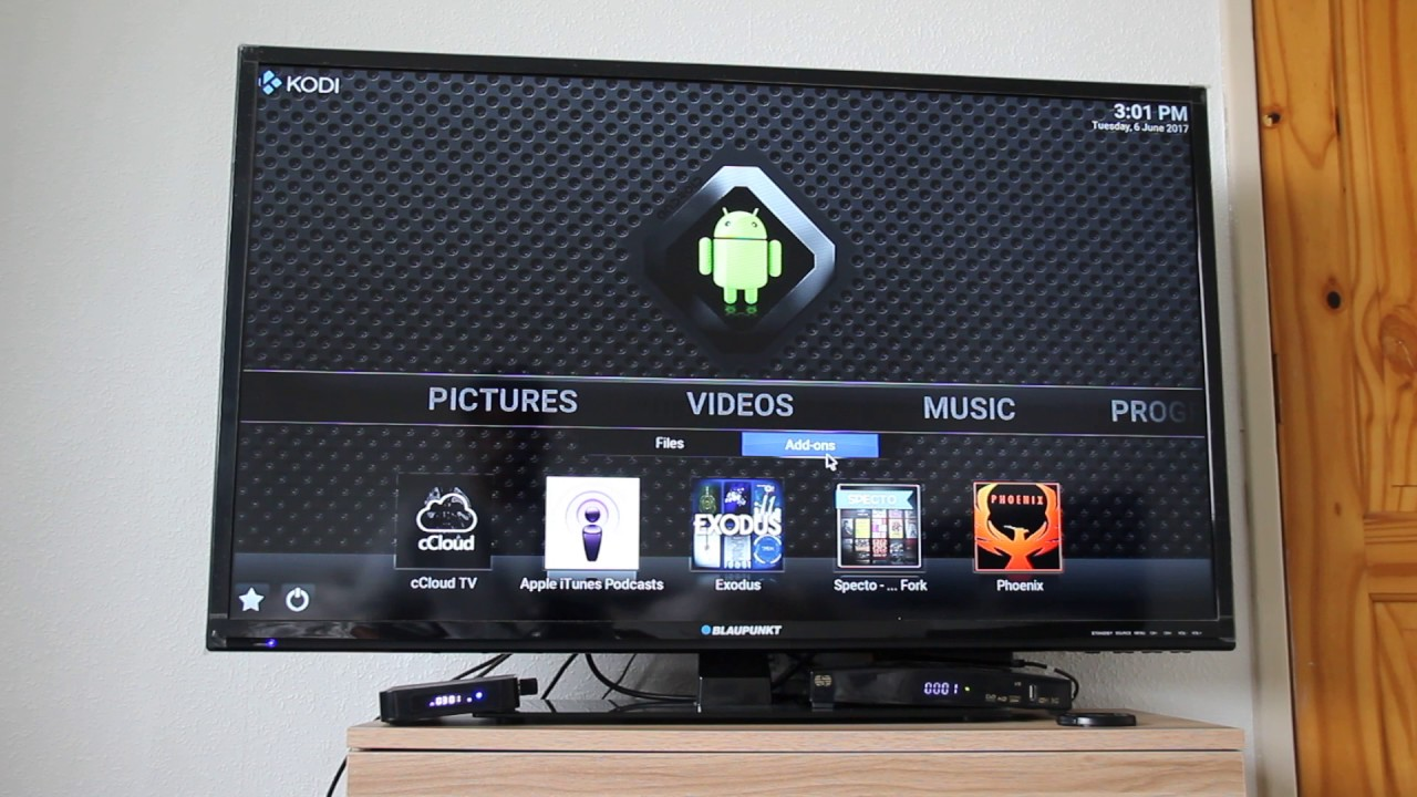 All free TV channels through Kodi from Android box in hindi