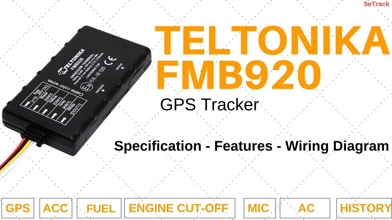 Teltonika Fmb920 Gps Tracker