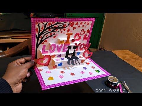 Beautiful Birthday Greeting Card Idea | DIY Birthday POP-UP card | Birthday Day card!