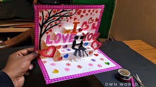 Beautiful Valentine's Day Card Idea | Diy Greeting Cards For Valentine's Day