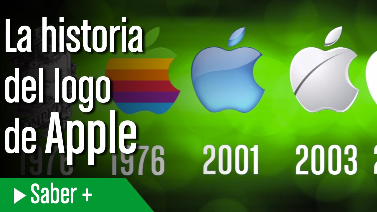 e637e0004de La historia del logo de Apple - YouTube