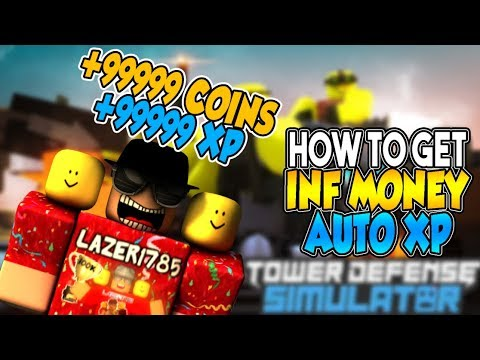 [Roblox] Tower Defense Simulator: HOW TO GET UNLIMITED FREE COINS & EXP  AUTOMATIC (NO HACK)