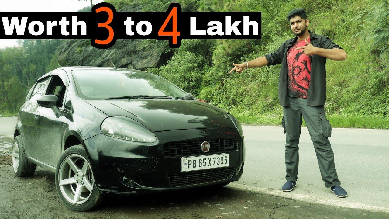 Modified Punto   Fiat Punto Modification Worth Rs 3 to 4 lakh   Grande Punto Multijet Engineer Singh
