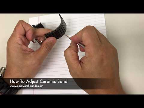 Ceramic Link Watch Bands Adjustment - Ceramic Link Watch Bands Adjustment Tool for Apple Watch