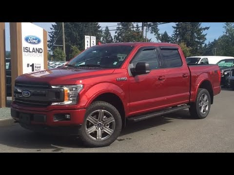 2018 Ford F-150 XLT FX4 Sport Ecoboost SuperCrew W/ Nav Review|Island Ford