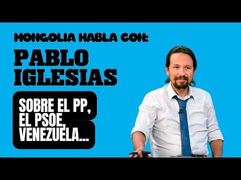 Mongolia Habla Con Pablo Iglesias sobre el PP, Venezuela, drogas y mucho más...