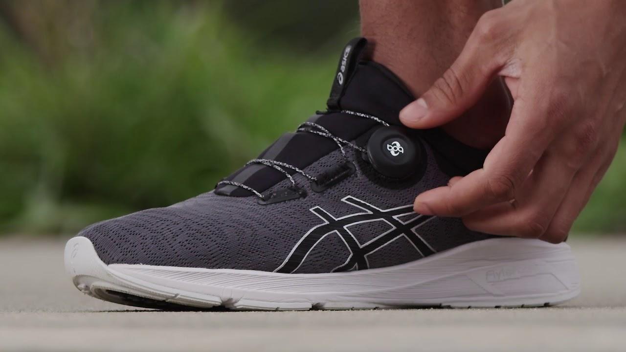 Denmark online selling kvinder sko asics dynaflyte sort
