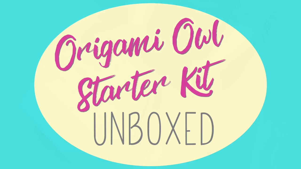 Origami Owl Starter Kit You Wont Believe Whats Inside Youtube