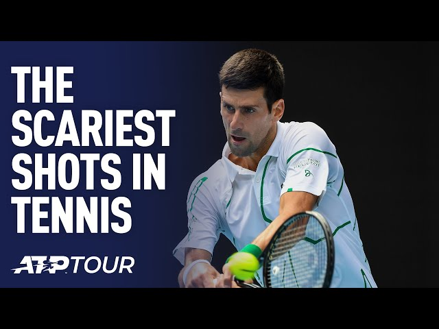 The Scariest Shots In Tennis