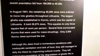 Video Clip - Holocaust Museum - Kaunas Ghetto - sidneysealine(Video Clip - Holocaust Museum - Kaunas Ghetto - sidneysealine., 2012-07-04T02:35:53.000Z)