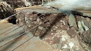 Leilani Estates Hawaii Lava Flow Kahukai Cracks Changed 5/18/2018