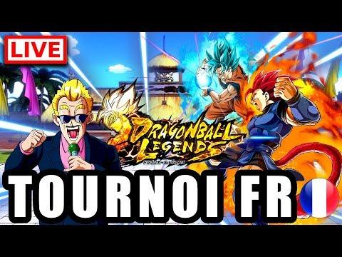 🔴 Tournoi [FR] DRAGON BALL LEGENDS
