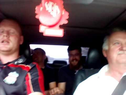 Carpool karaoke, quartet, a welsh prayer
