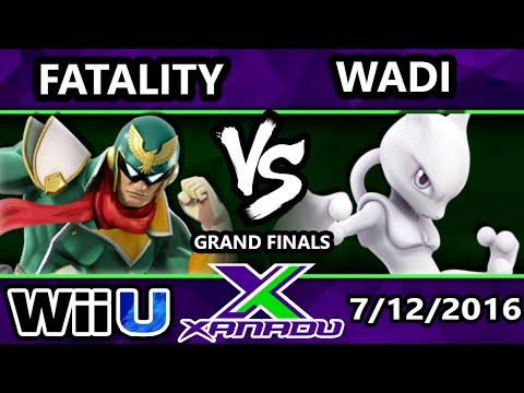 S@X 158 - TA | Fatality (Captain Falcon) Vs. Wadi (Mewtwo) SSB4 Grand Finals - Smash Wii U