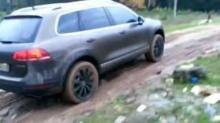 Небольшая грязь в деревне, трансмиссия torsen 4x4