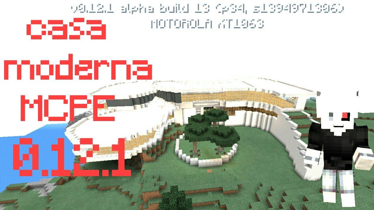 Mapa de casa moderna para minecraft pe y for Casa moderna para minecraft pe 0 14 0