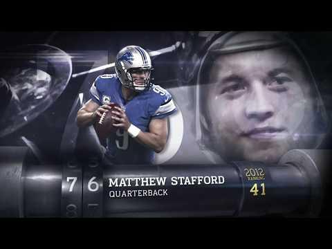 #76 Matthew Stafford (QB, Lions)   Top 100 Players of 2013   NFL