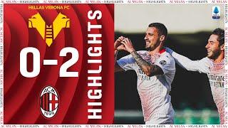 Highlights   Hellas Verona 0-2 AC Milan   Matchday 26 Serie A TIM 2020/21