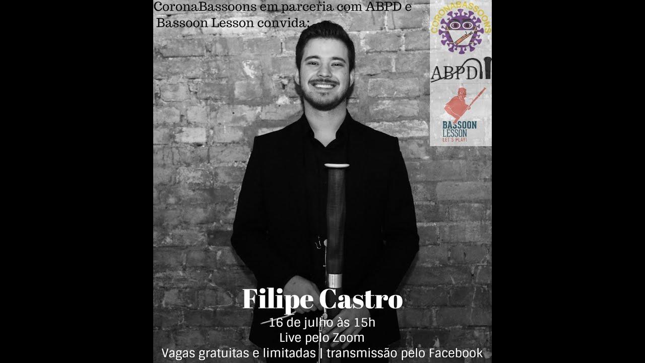 Live com Filipe Castro