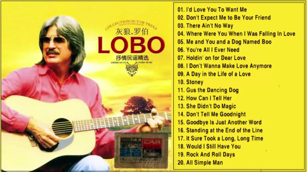lobo all songs mp3 free download