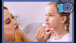 Sangre de nariz la pequeños coagulos en