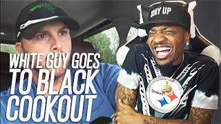 WHITE GUY GOES TO FIRST BLACK COOKOUT! (REACTION!!!)