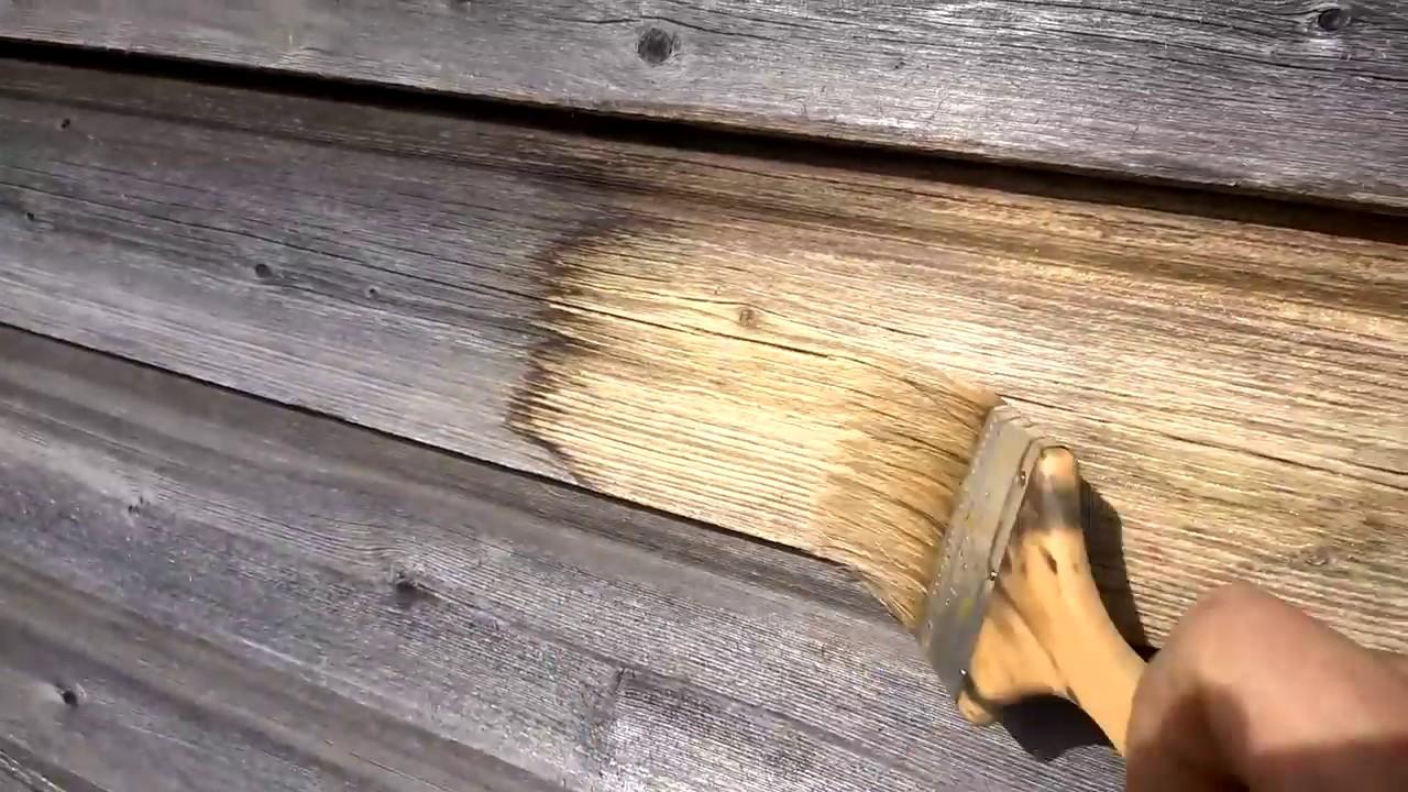 Как сделать отбеливатель для древесины