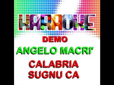 CALABRIA SUGNU CA Karaoke