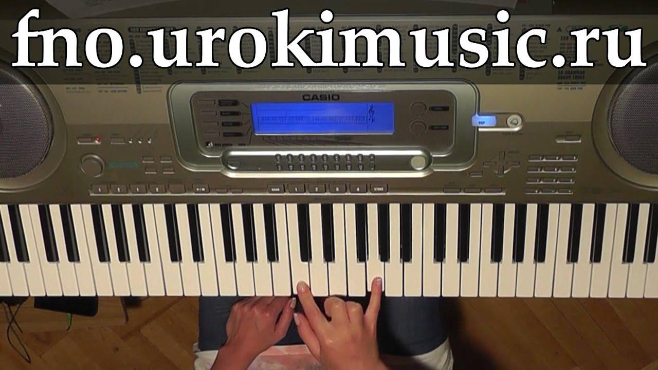 Клип где играют синтезаторе
