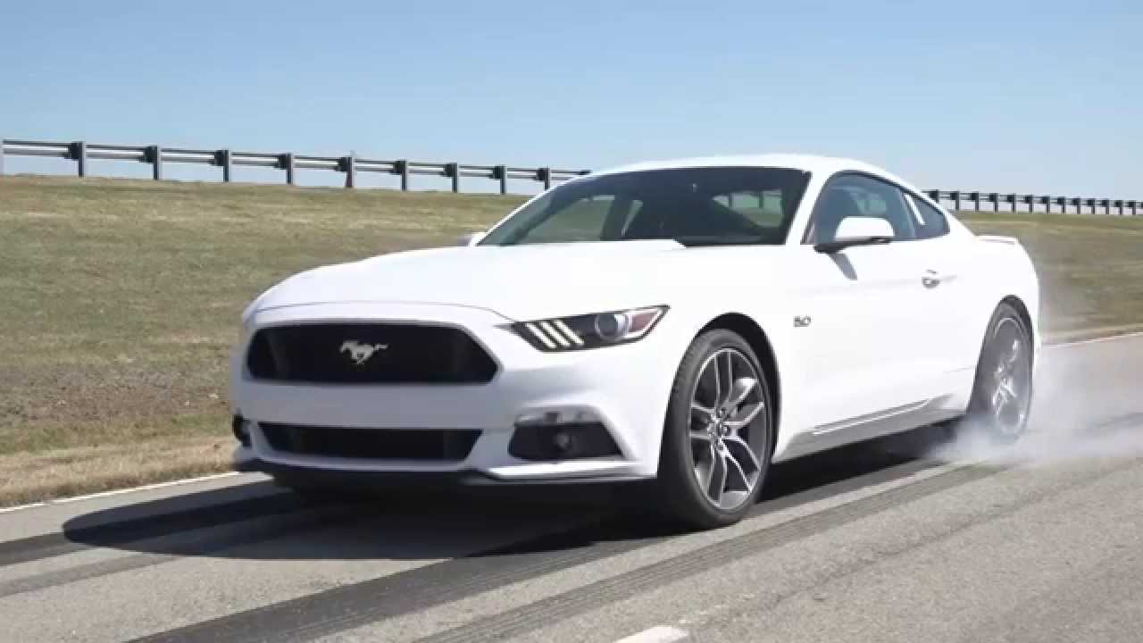 2015 ford mustang detail and burnout video otomoto