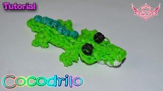 ♥ Tutorial: Cocodrilo en 3D (sin telar) ♥
