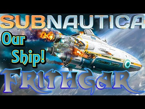 Let's Play Subnautica #1: Our Ship!