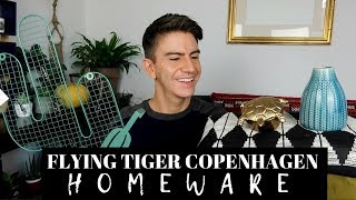 FLYING TIGER COPENHAGEN UNBOXING! | HOMEWARE HAUL 2018