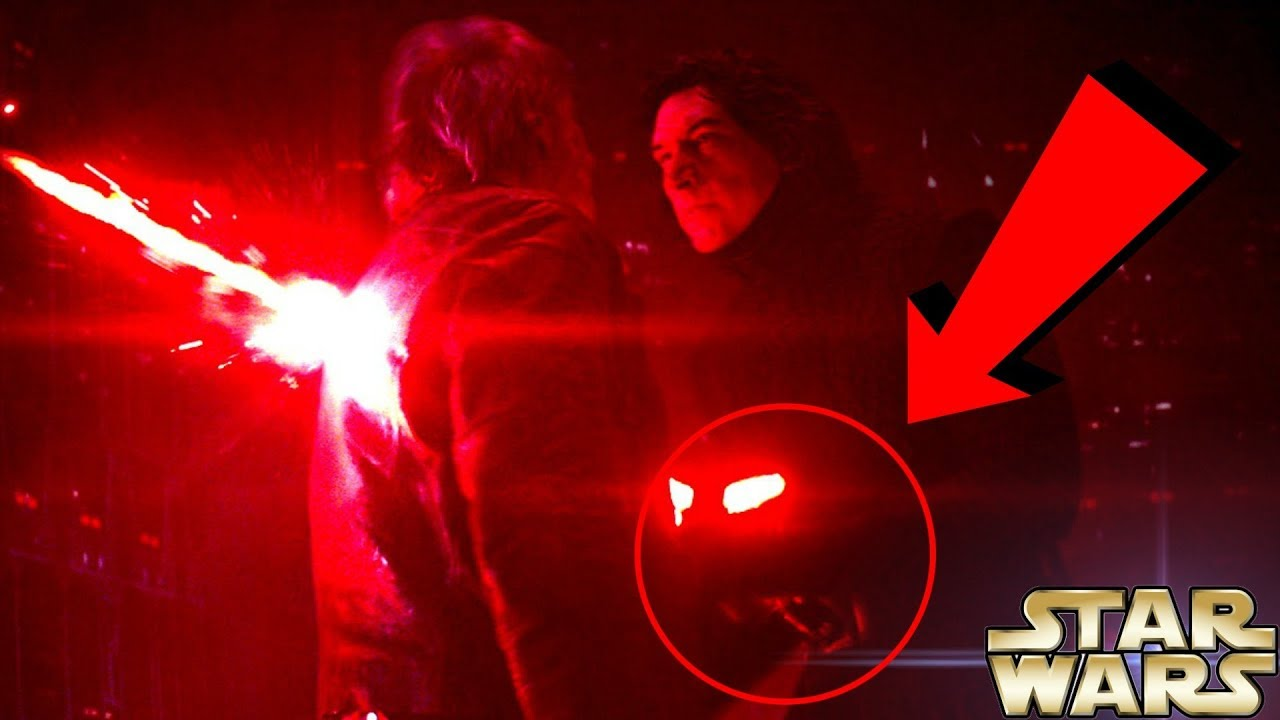 Han solo ignited kylo ren s lightsaber star wars theory for Star wars kuchenutensilien