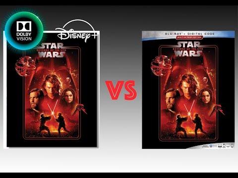 Comparison Of Star Wars Episode Iii Revenge Of The Sith 4k Disney Vs Blu Ray Version Youtube