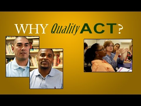 Quality ACT - Alternative Certification for Texas Teachers - YouTube