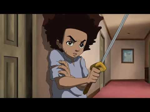 The Boondocks Season 1: Huey vs Riley HD [60fps]