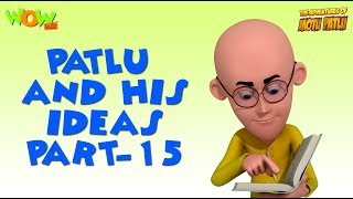 Patlu & His Ideas - Motu Patlu Compilation- Part 15 - As seen on Nickelodeon