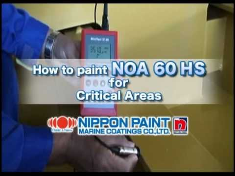 Nippon Paint Marine NOA 60 HS for Critical Areas