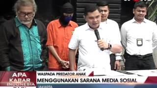 Subdit Cyber Crime Polda Metro Jaya Ungkap Pornografi Anak