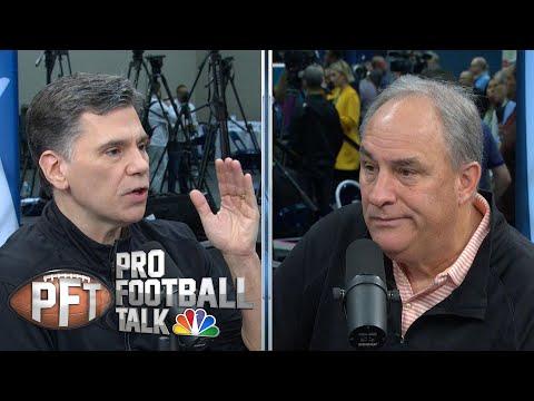 Vic Fangio: Drew Lock getting hurt helped him (FULL INTERVIEW) | Pro Football Talk | NBC Sports