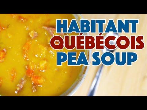 Habitant Québécois Yellow Pea Soup Recipe