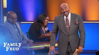 This CLOWN ain't FUNNY! | Family Feud