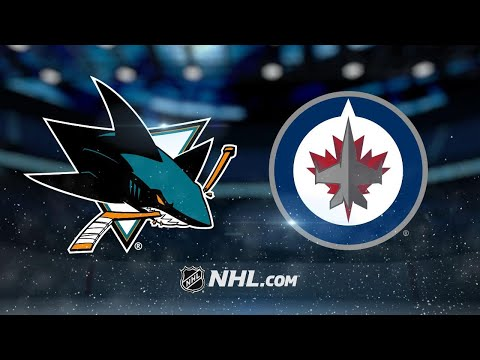 Perreault scores twice as Jets beat Sharks, 4-1