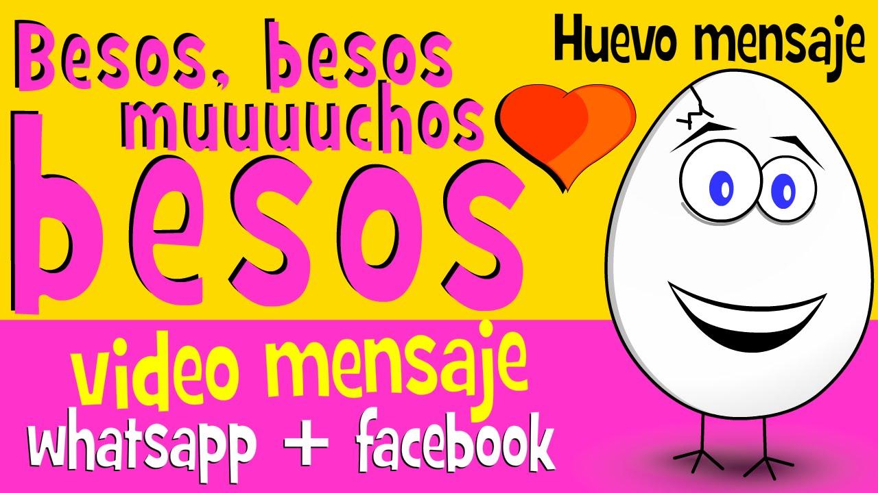 Besos Besos Muchos Besos Frases De Amor Para Compartir En Whatsapp