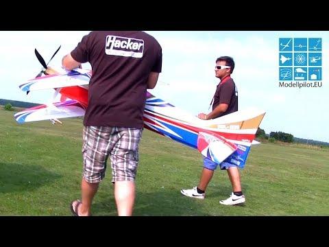 STUNNING SKILLS F3A ROBIN TRUMP RC FLIGHT Aerobatic
