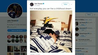Tavares living childhood dream signing with Maple Leafs